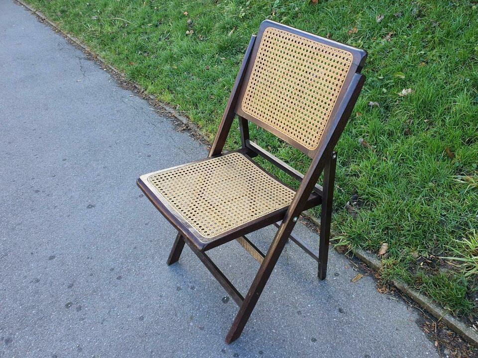 Antiker Stuhl Wiener Geflecht