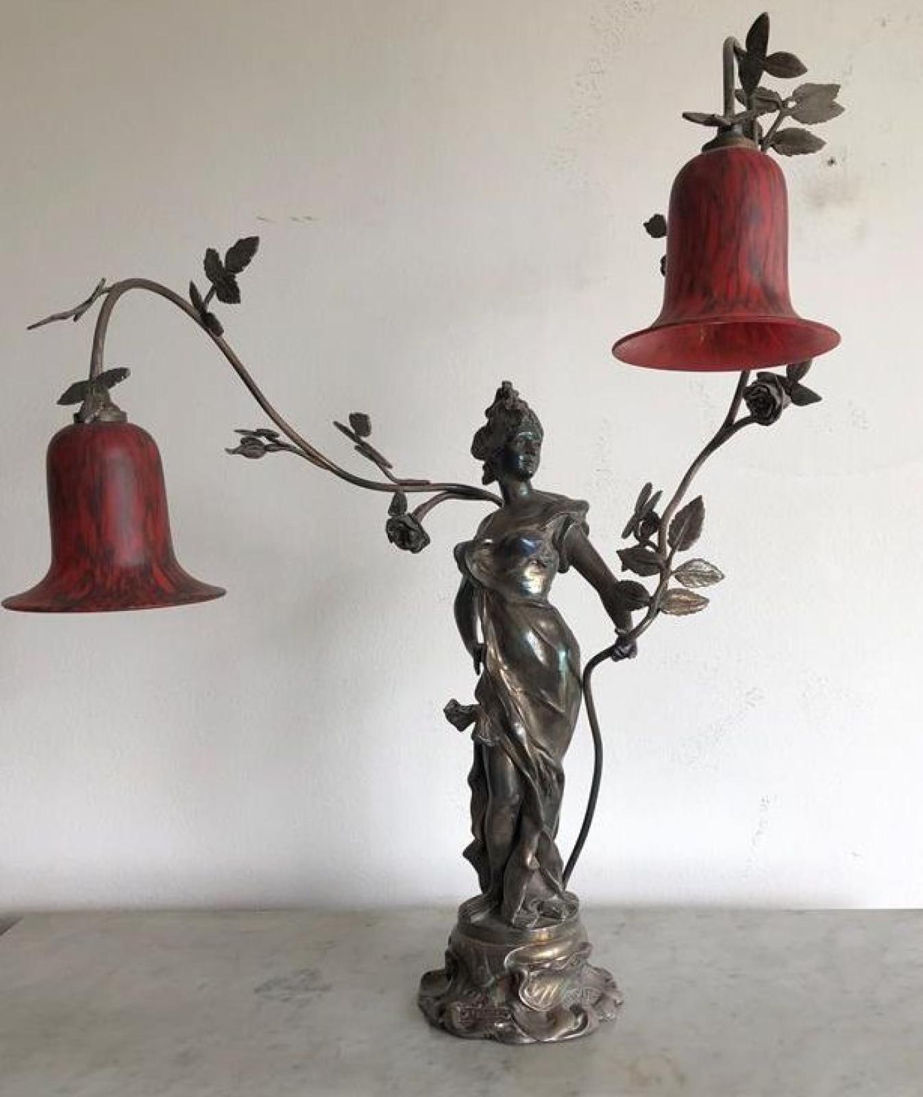 Anton Nelson Bronze Lampe