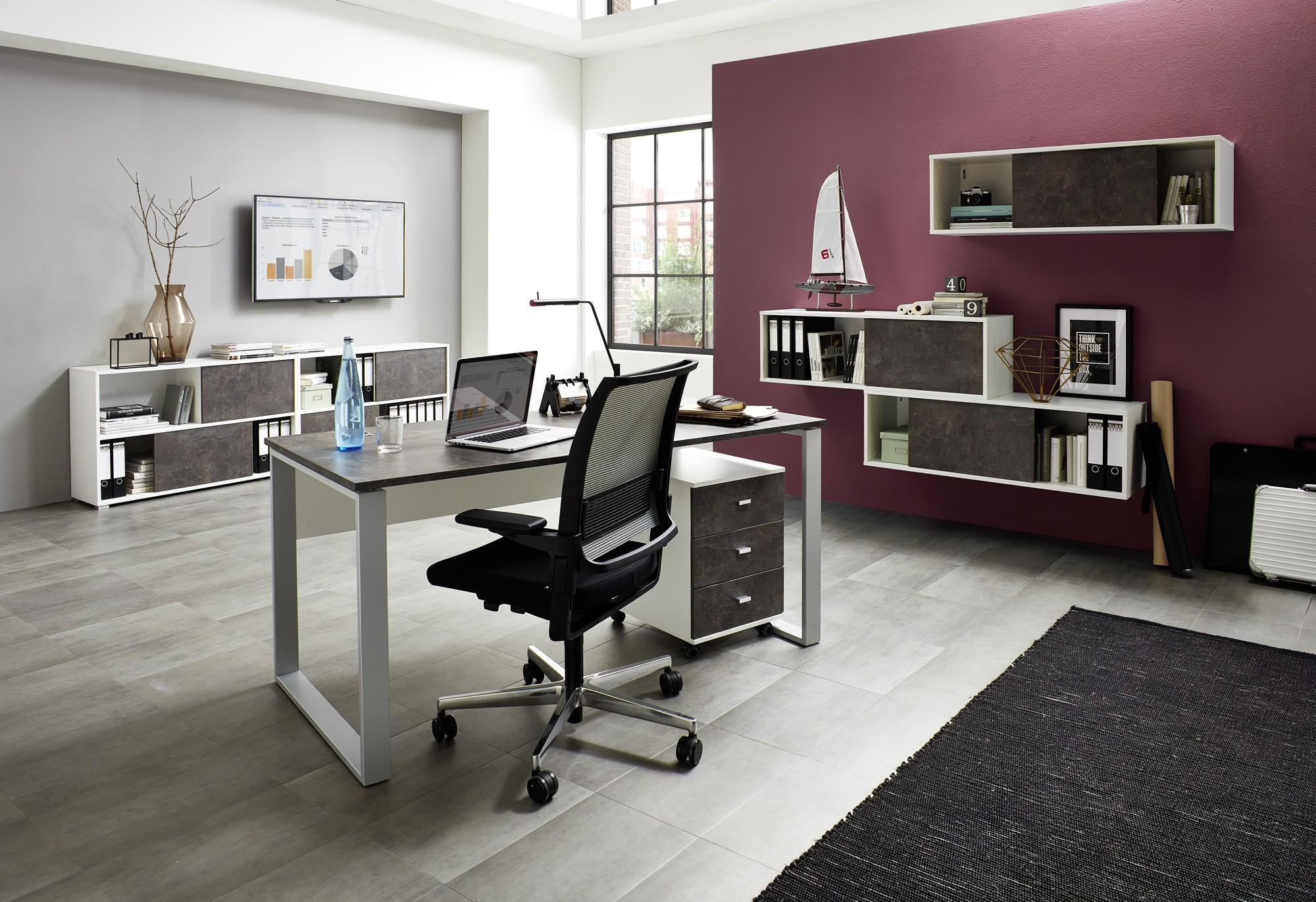 Arbeitszimmer Möbel Weiß