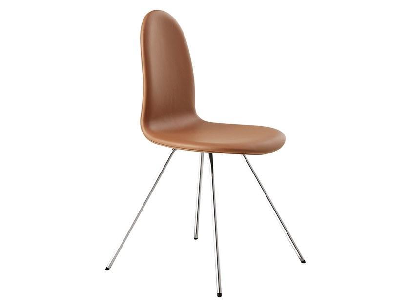 Arne Jacobsen Stuhl Leder