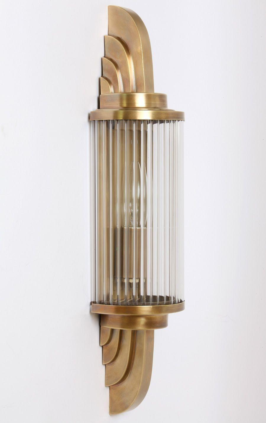 Art Deco Lampe Alt