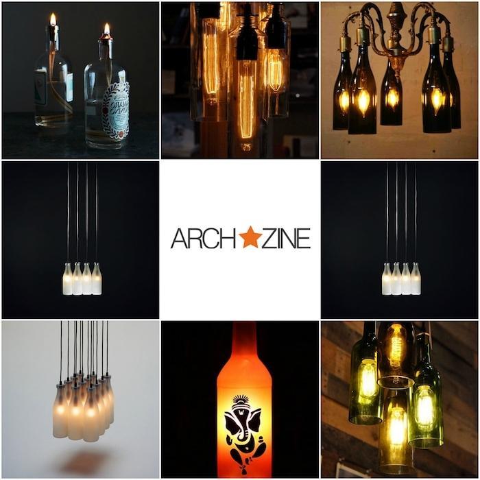 Aus Flaschen Lampen Machen