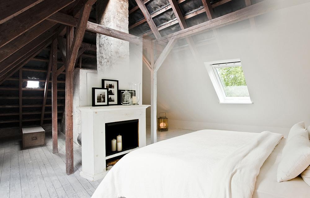 Ausbau Schlafzimmer Dachboden