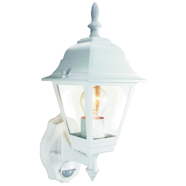 Außenlampen Mit Bewegungsmelder Weiß