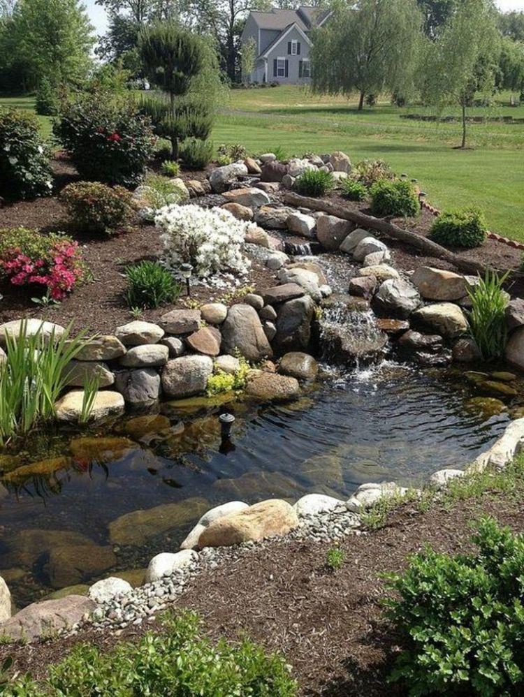 Bachlauf Anlegen Garten