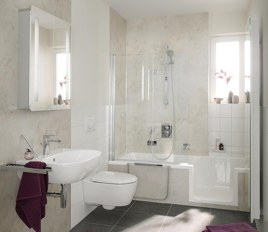 Badewanne Mit Türe Und Dusche
