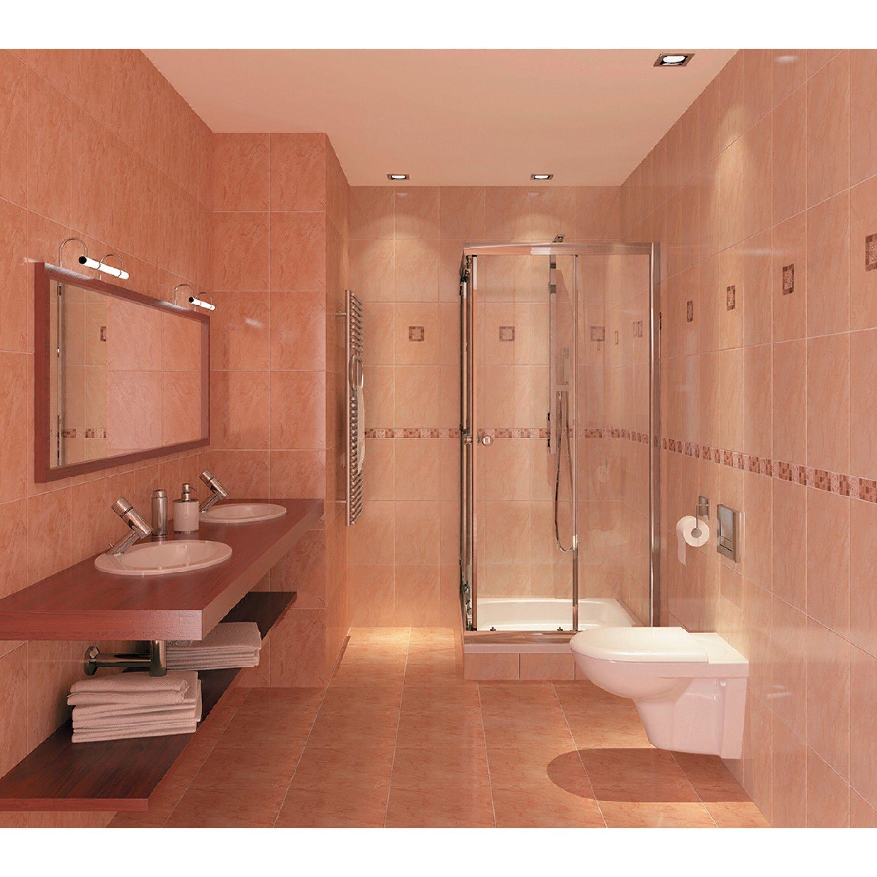 Badezimmer Design Beige