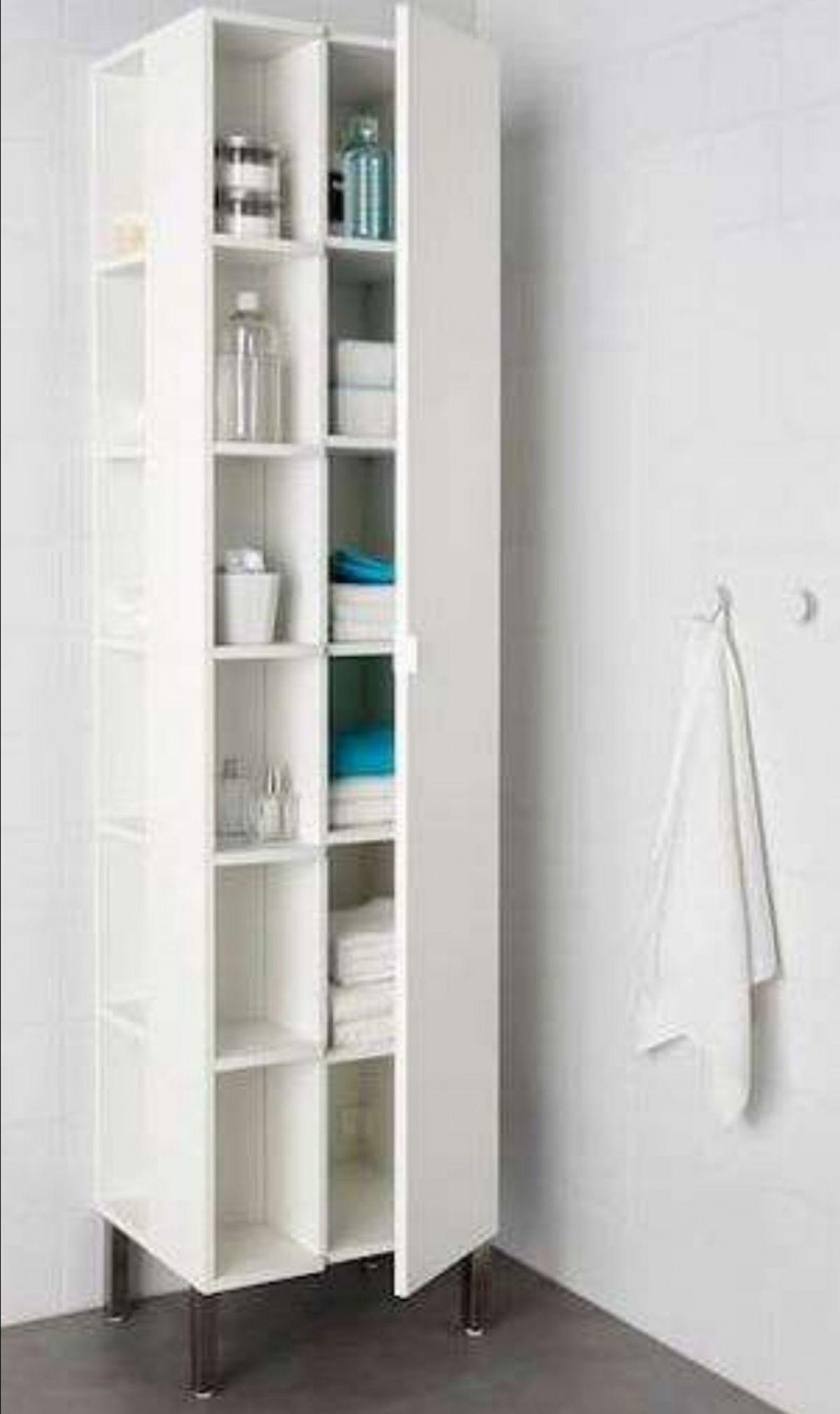 Badezimmer Eckschrank Ikea