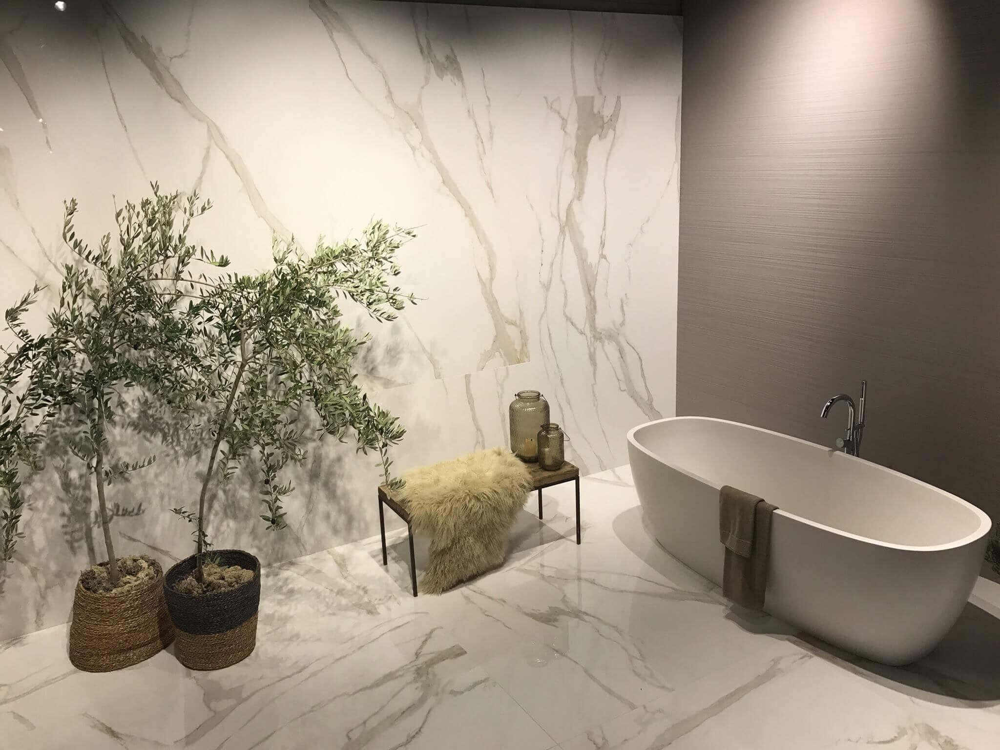 Badezimmer Fliesen Trend 2019