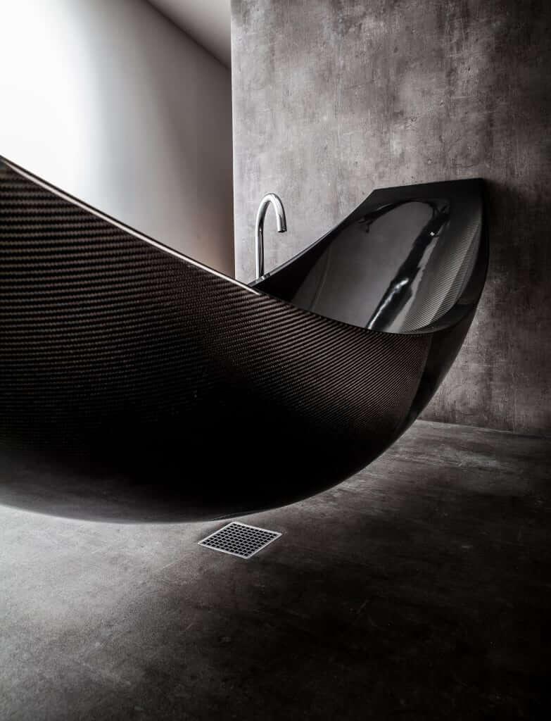 Badezimmer Grau Weiß Schwarz