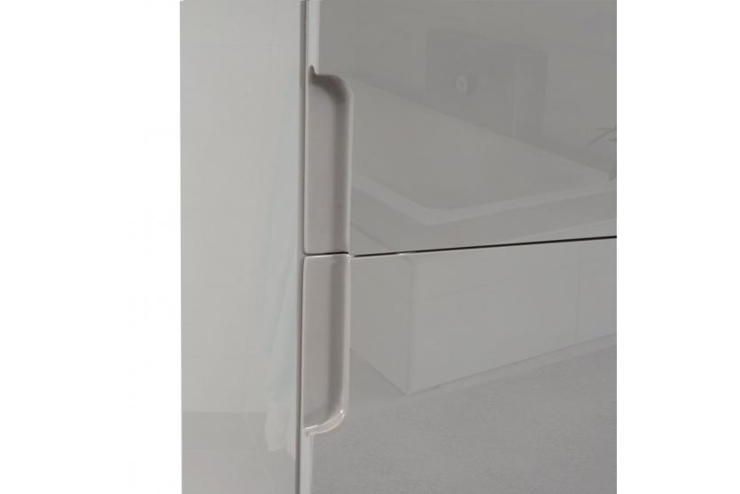 Badezimmer Hängeschrank Grau