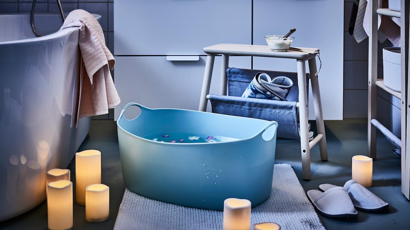 Badezimmer Ikea Deko