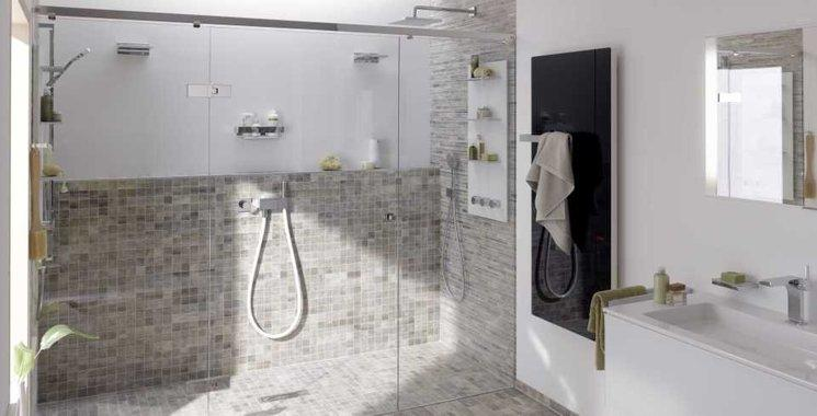Badezimmer Landhaus Fliesen