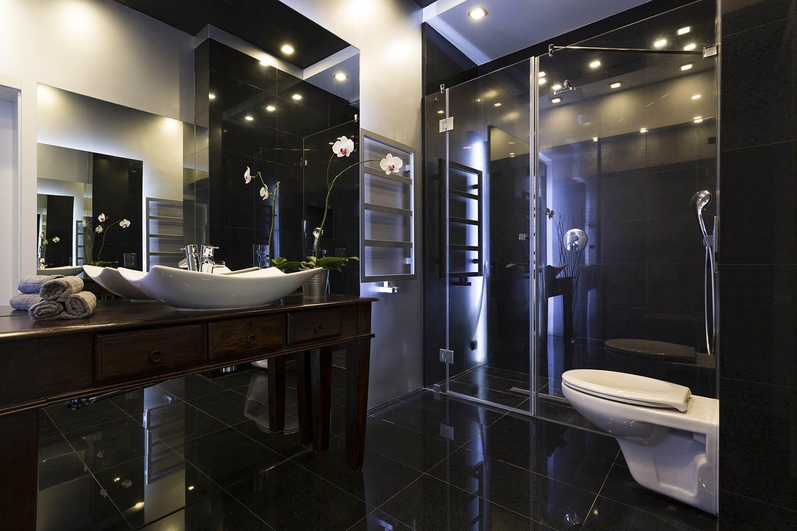 Badezimmer Luxus Spiegel