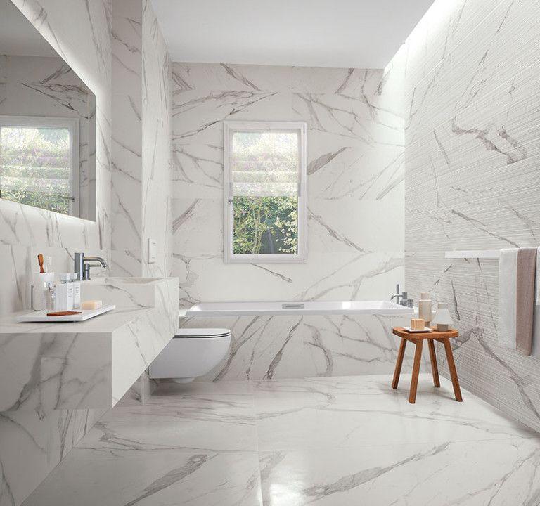 Badezimmer Marmor Modern