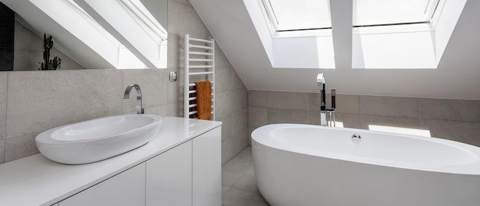 Badezimmer Mit Dachschräge Gestalten