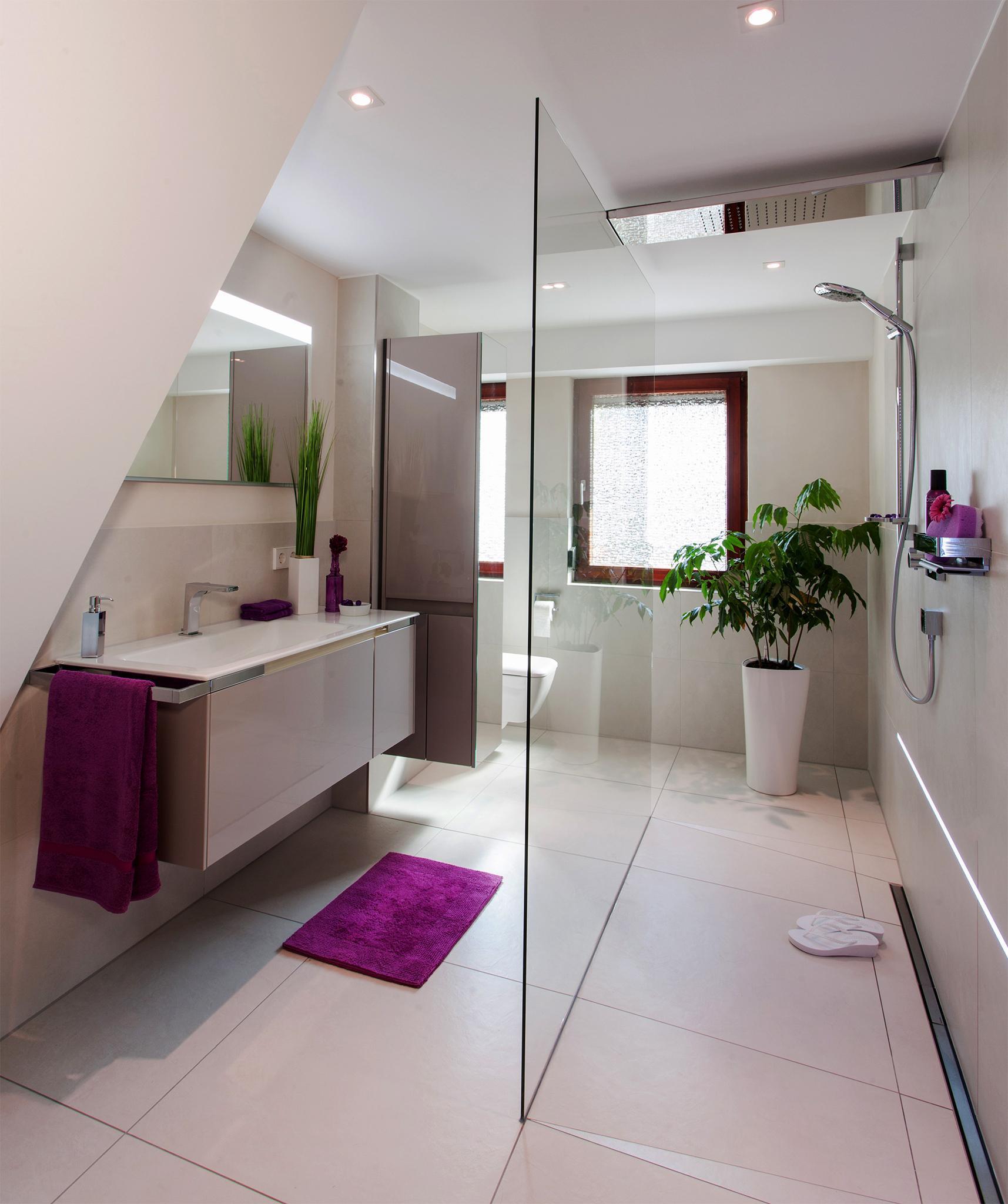 Badezimmer Mit Dachschräge Ideen