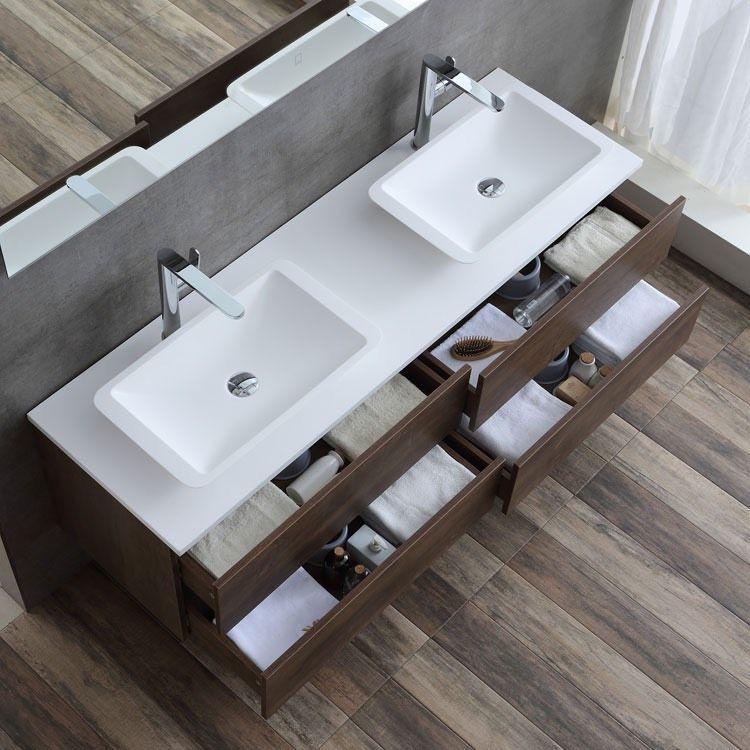 Badezimmer Mit Doppelwaschtisch