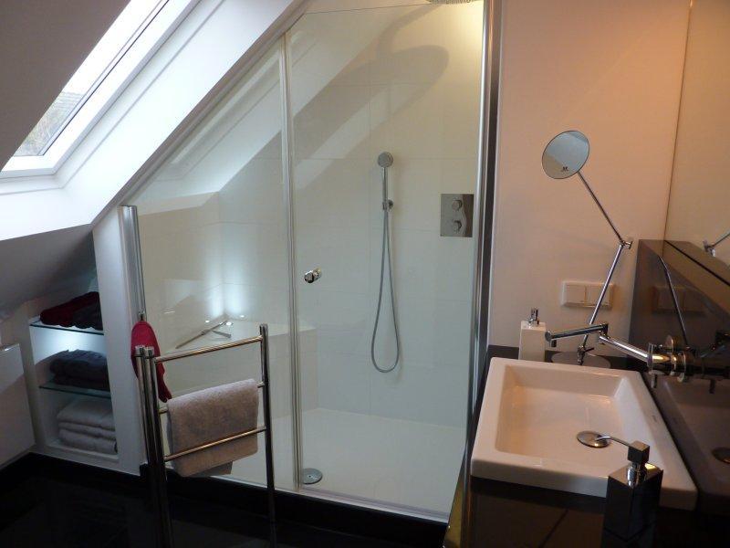 Badezimmer Mit Dusche In Dachschräge
