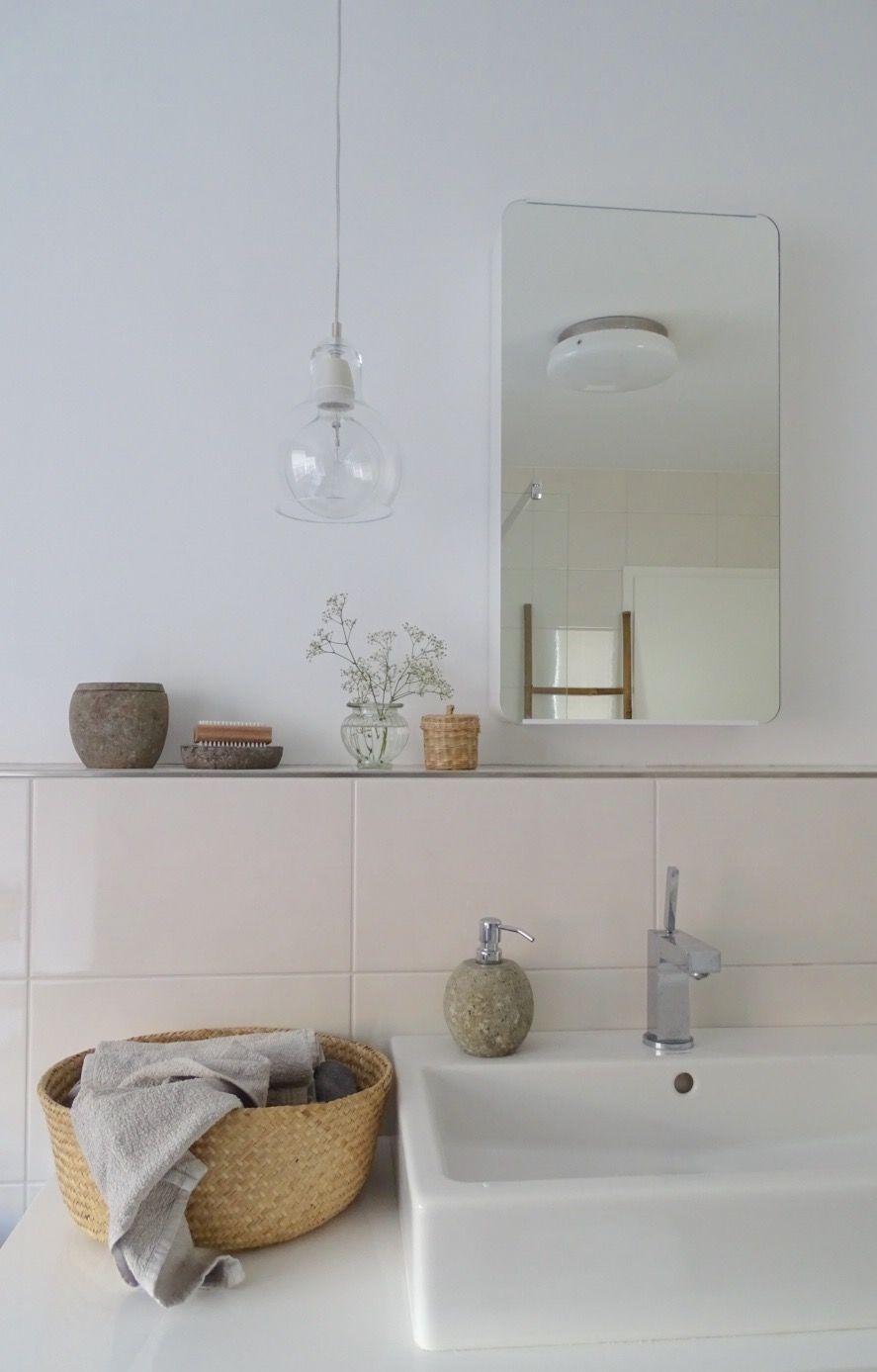 Badezimmer Modern Beige Grau