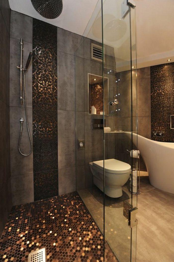 Badezimmer Mosaik Boden