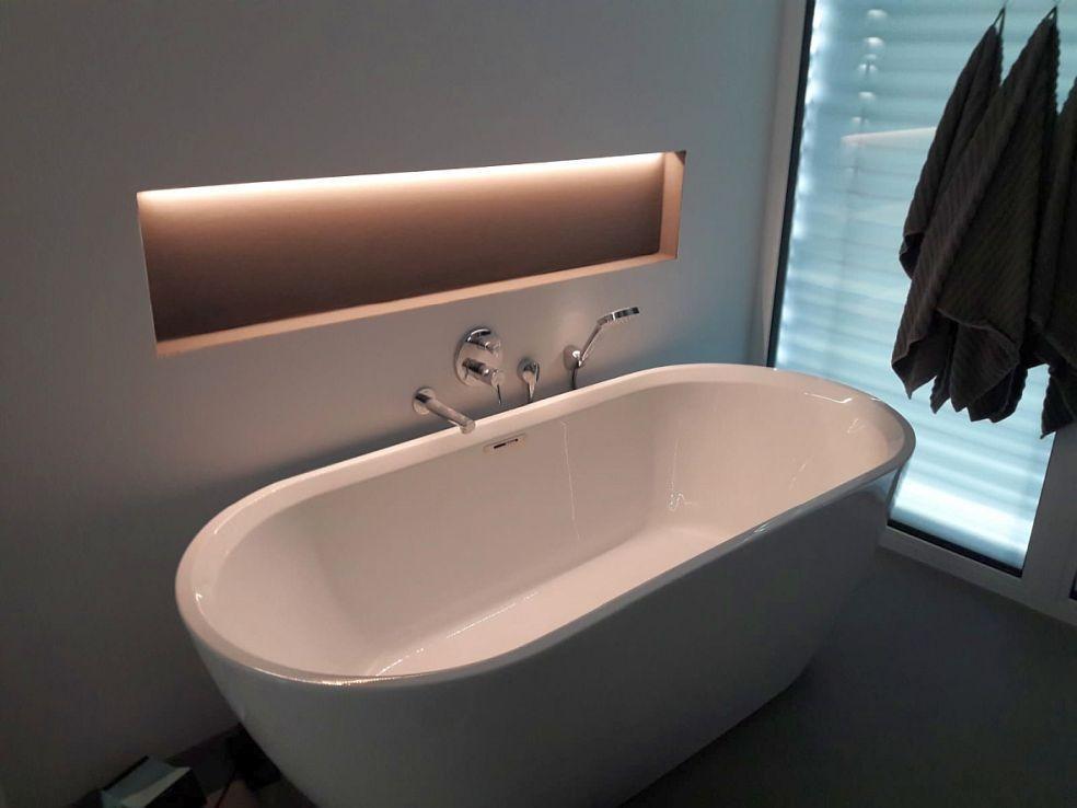Badezimmer Nische Beleuchtung