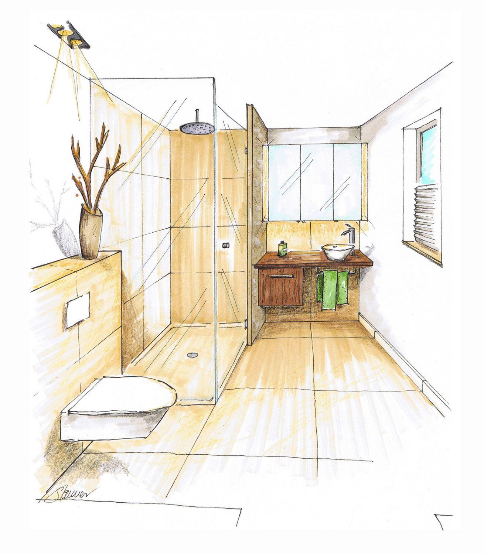 Badezimmer Sanitär Maße