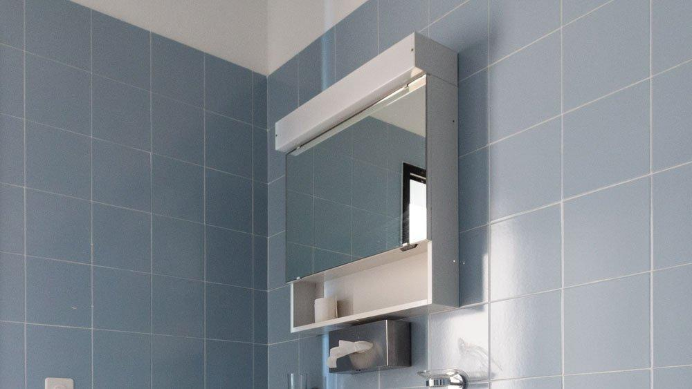 Badezimmer Spiegelschrank Design