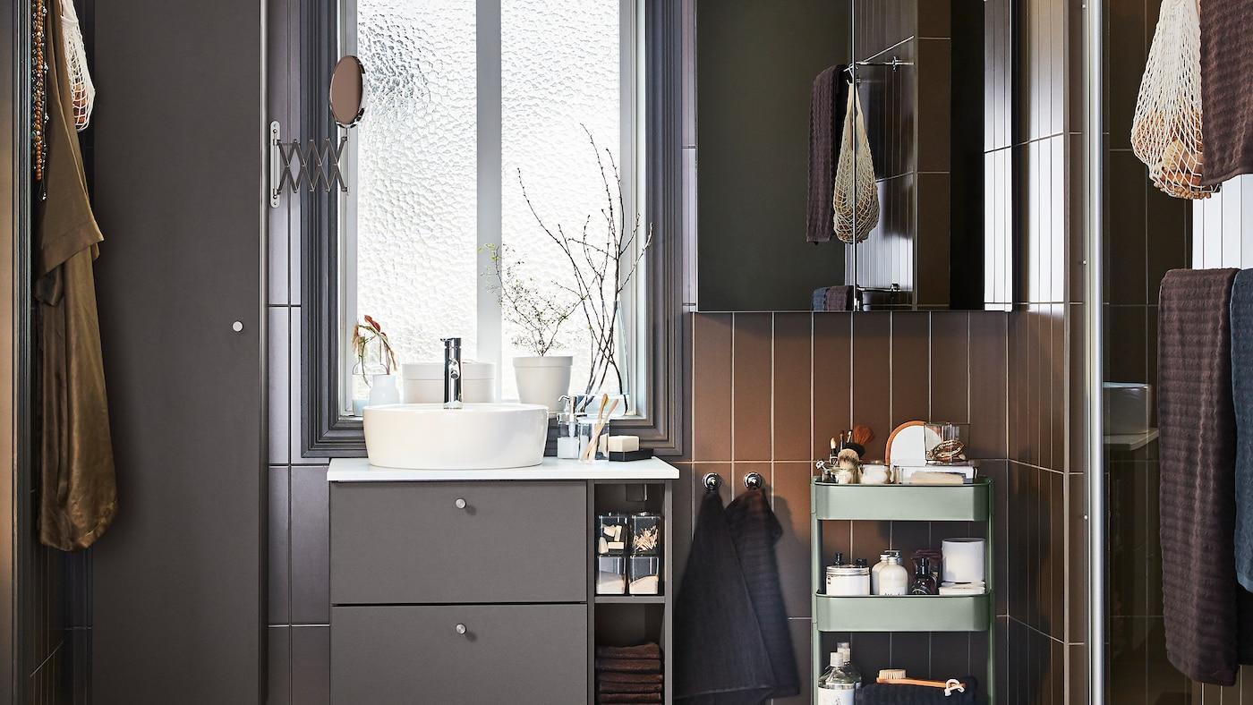 Badezimmer Stauraum Ikea