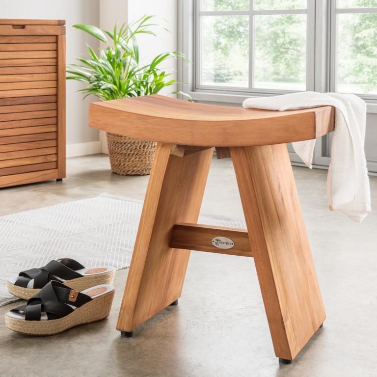 Badezimmer Tisch Holz