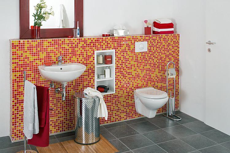 Badezimmer Trockenbau Regal