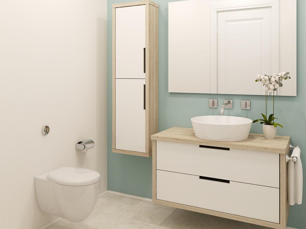 Badezimmer Wände Streichen