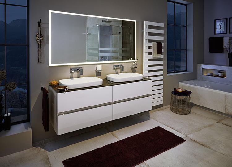 Badezimmer Waschtisch Doppelt