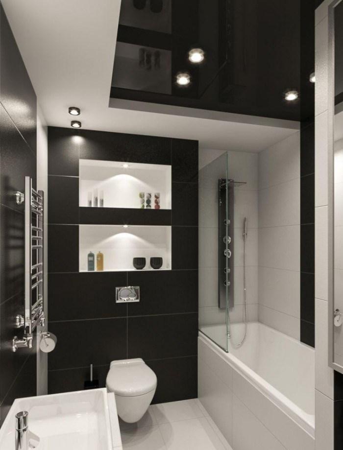 Badezimmer Weiß Beige