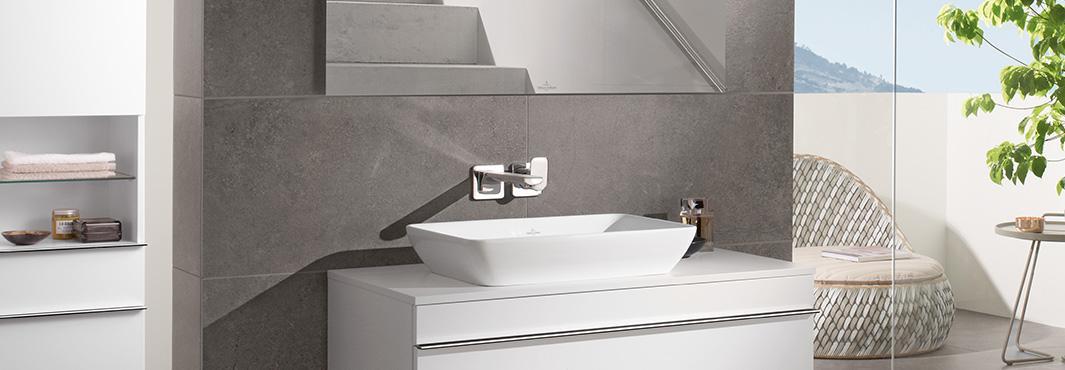 Badezimmer Weiß Gefliest