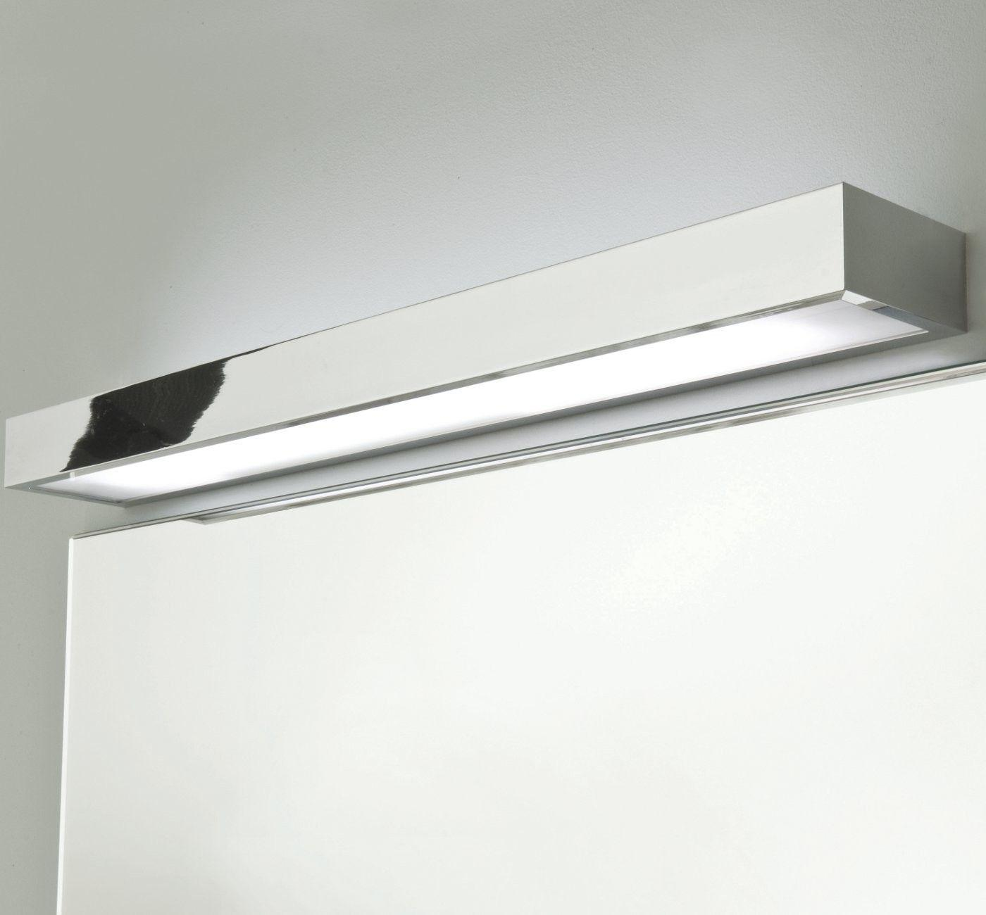 Badezimmerlampe über Spiegel