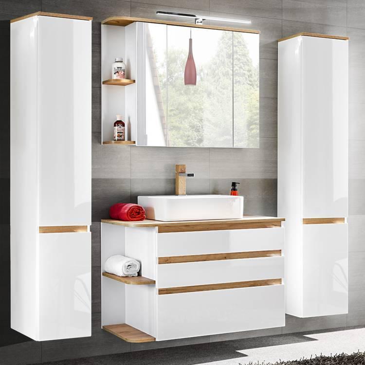 Badezimmermöbel Komplett Set