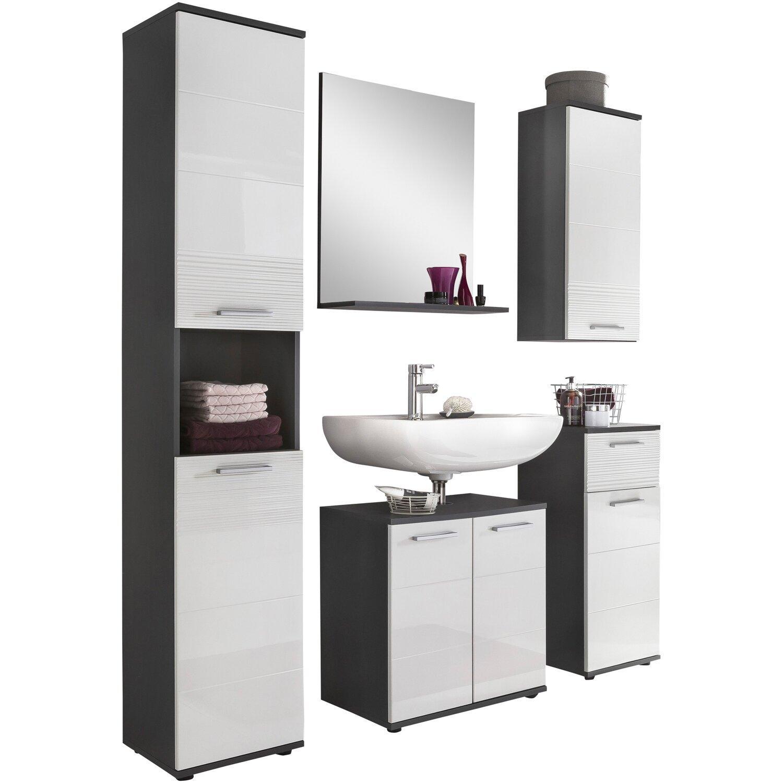 Badezimmermöbel Set Grau