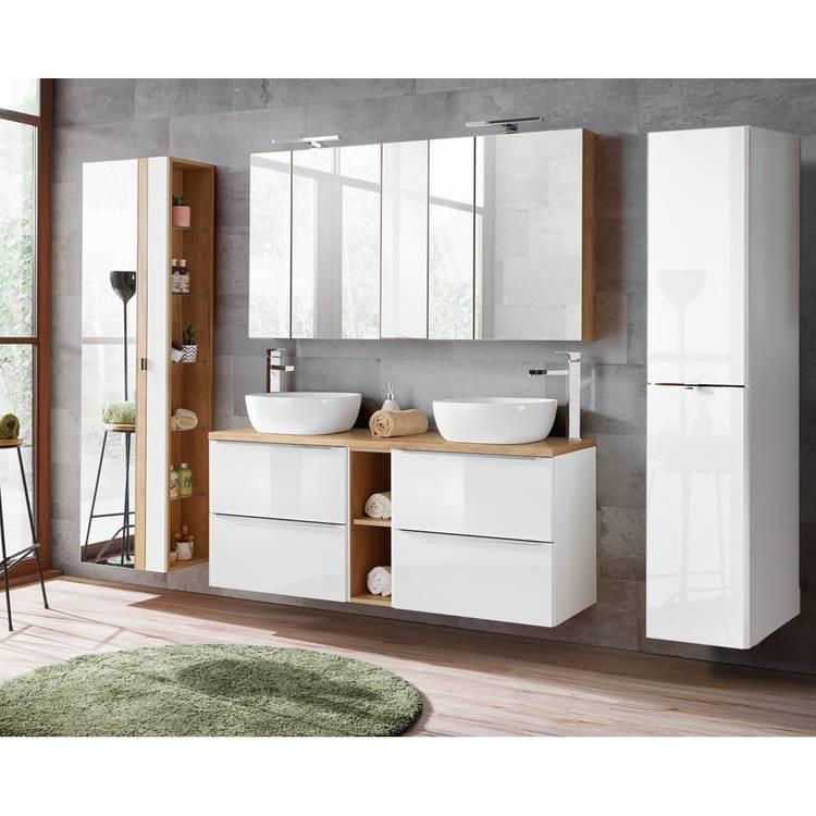 Badezimmermöbel Set Mit Doppelwaschtisch