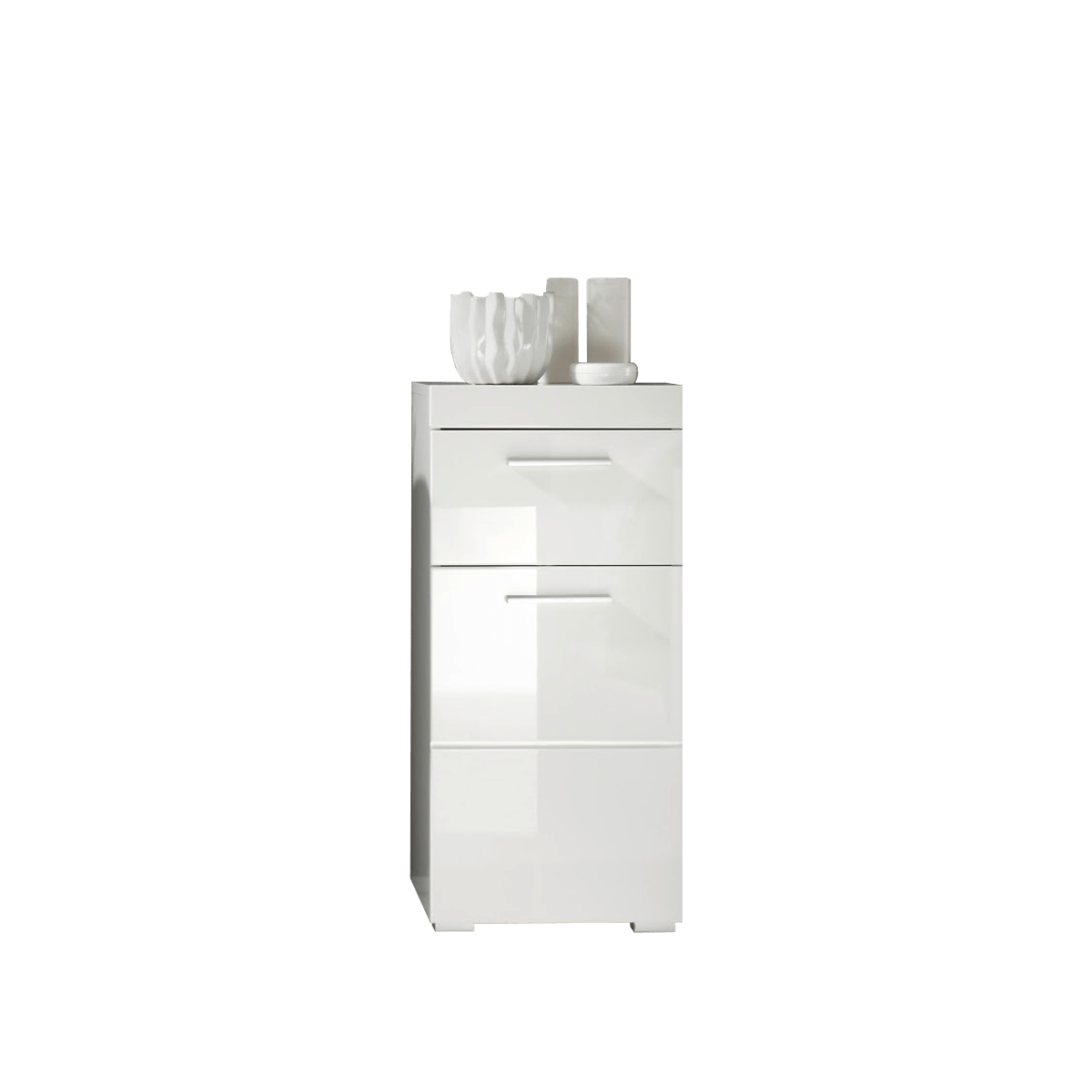 Badezimmerschrank Weiss Glänzend
