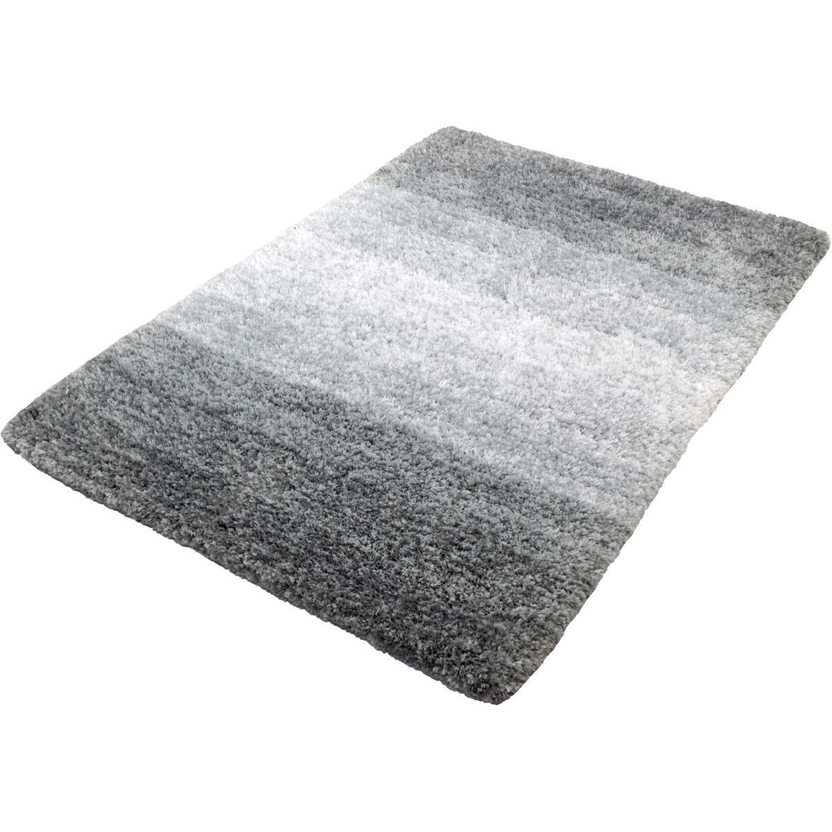 Badgarnitur Grau Weiß