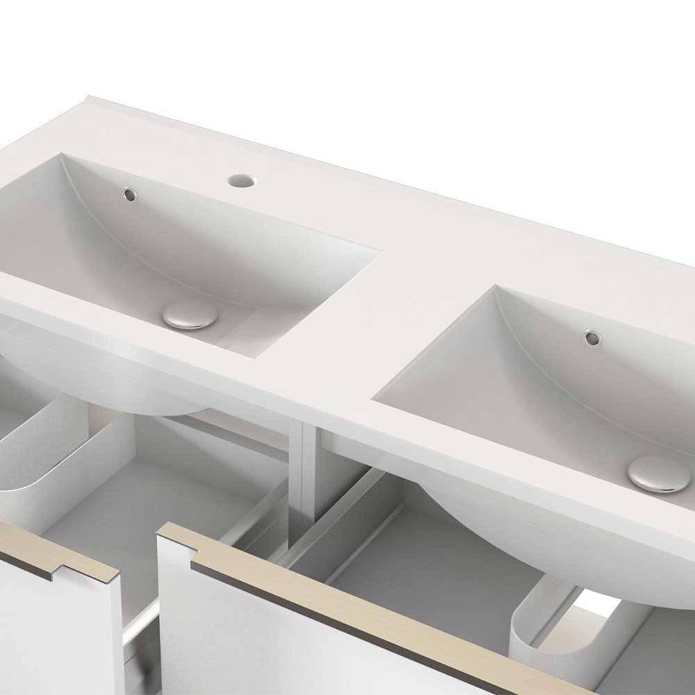 Badmöbel 2 Waschbecken
