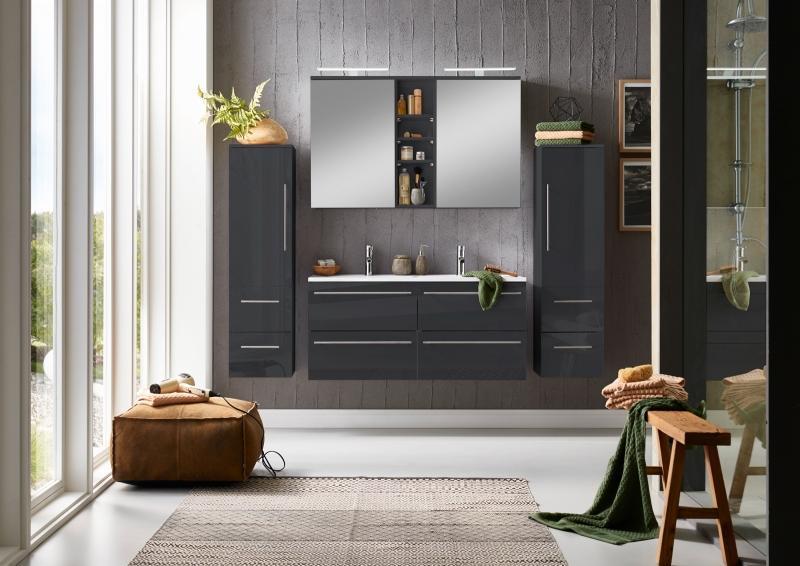 Badmöbel Set 120 Cm Doppelwaschtisch