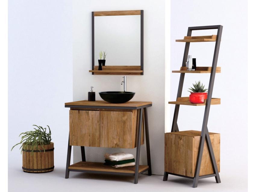 Badmöbel Set Bambus