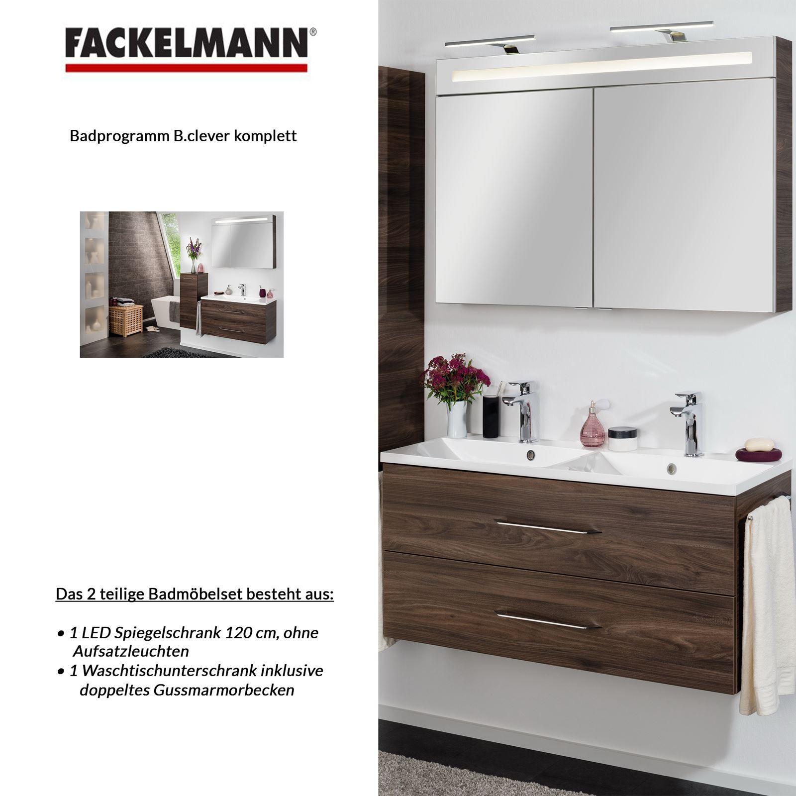 Badmöbel Set Fackelmann