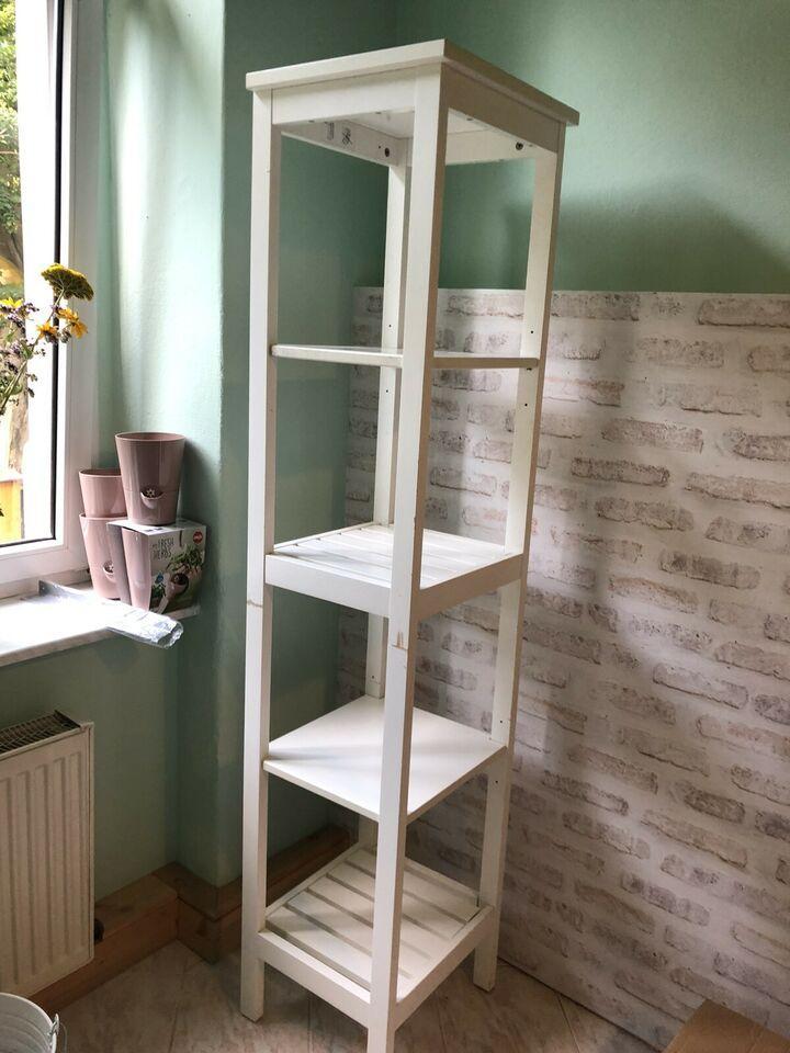 Badregal Weiß Holz