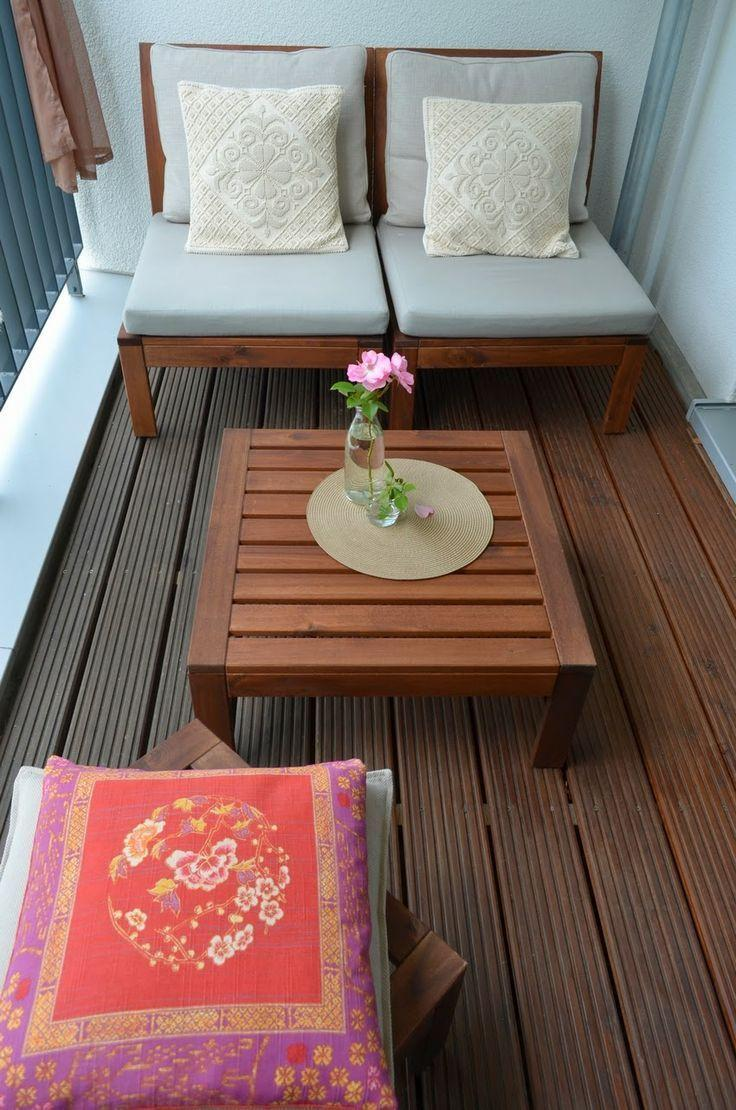 Balkon Lounge Ideen
