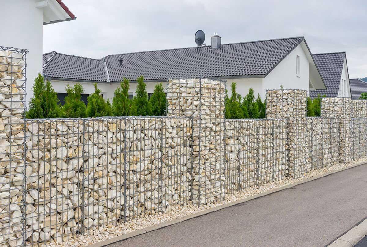Balkon Sichtschutz Kunststoff Steinoptik