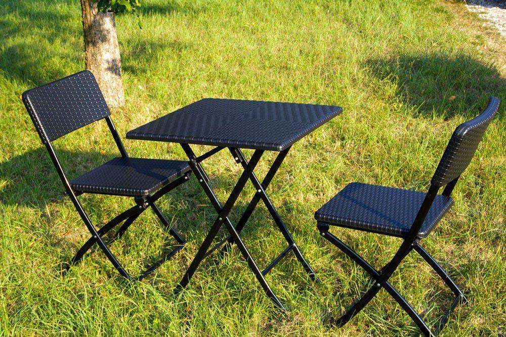Balkon Tisch Stuhl Set