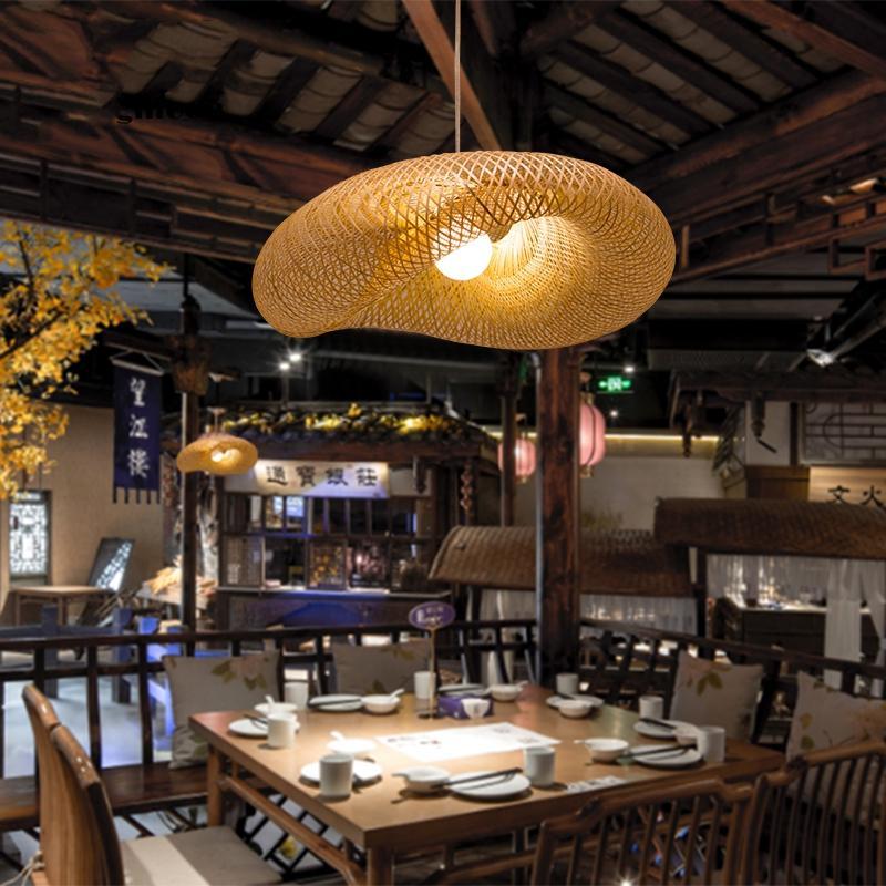 Bambus Lampe Wohnzimmer